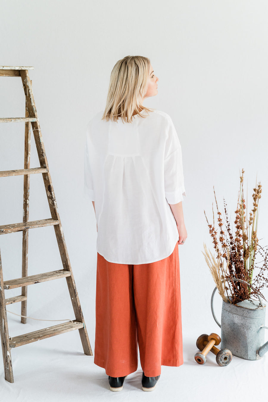 Field Top - White - Shop Online At Mookah - mookah.com.au