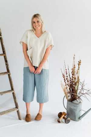 Vespa Pant - Dove Blue - Shop Online At Mookah - mookah.com.au