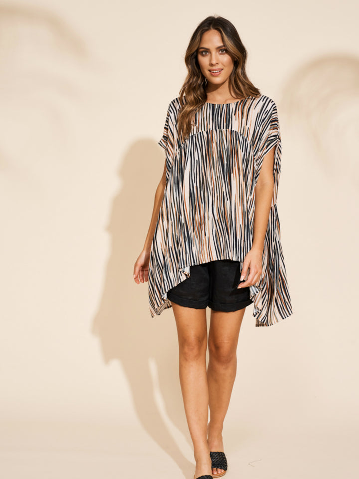 Savannah Top - Zebra