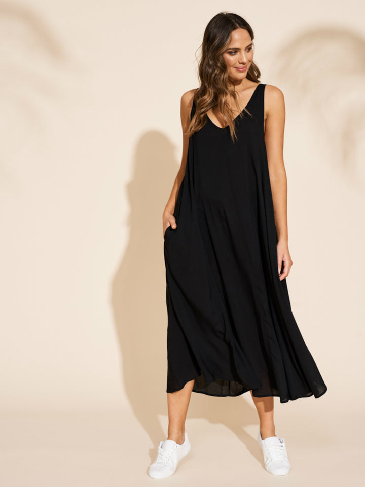 Savannah Maxi - Black - Shop Online At Mookah - mookah.com.au