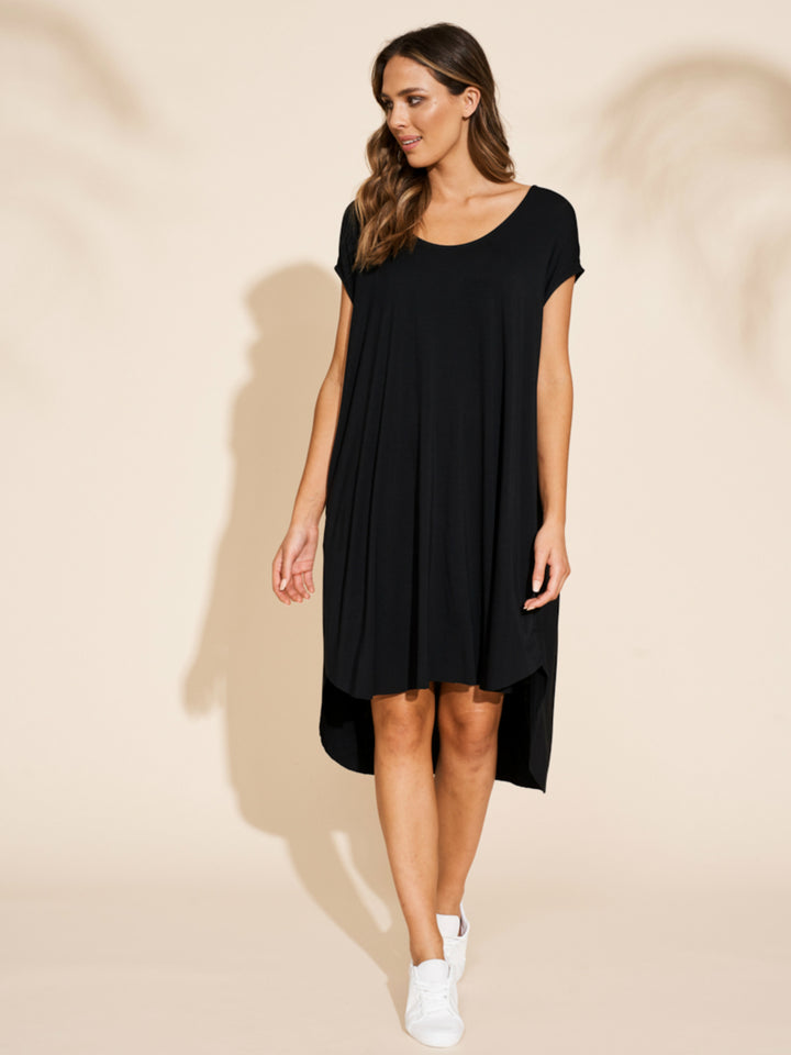 Ruma Dress - Black - Shop Online At Mookah - mookah.com.au