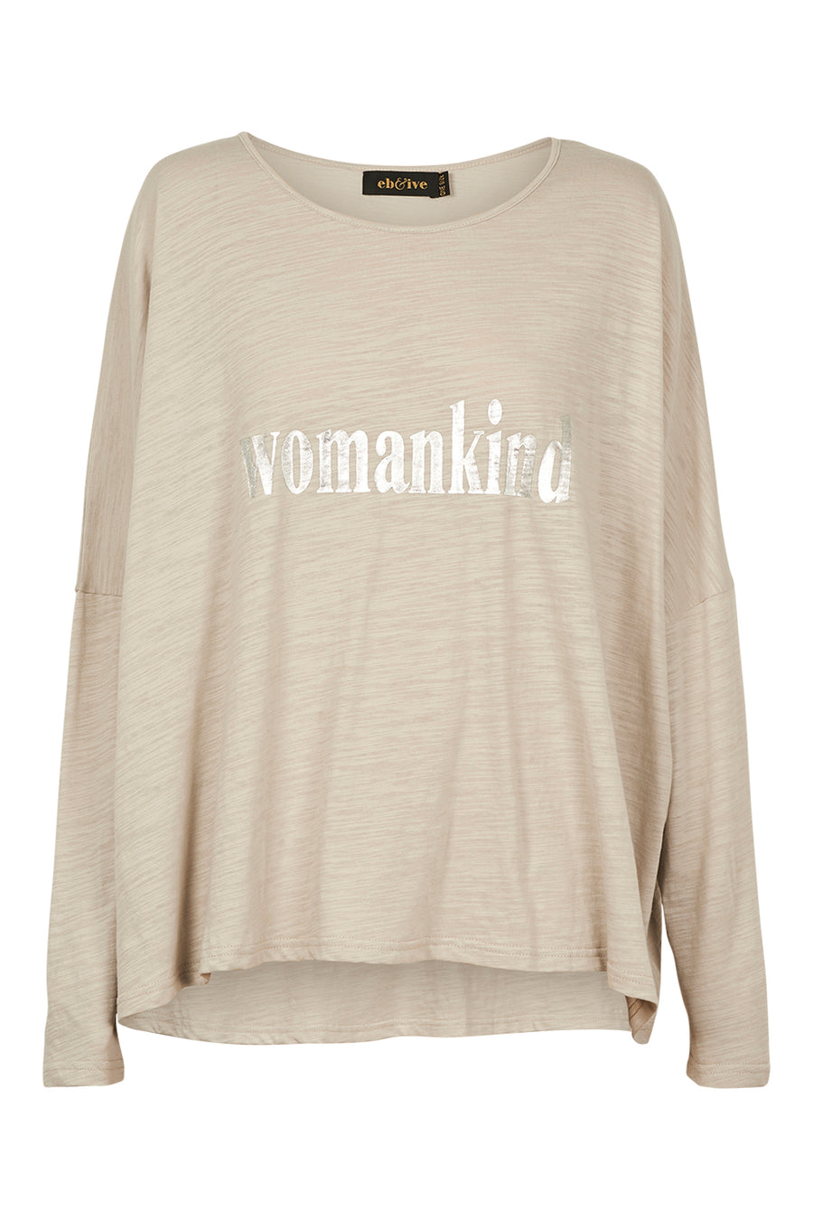 Womankind T-Shirt - Grey - Shop Online At Mookah - mookah.com.au