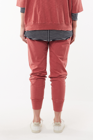 Wash Out Lounge Pant - Deep Rose
