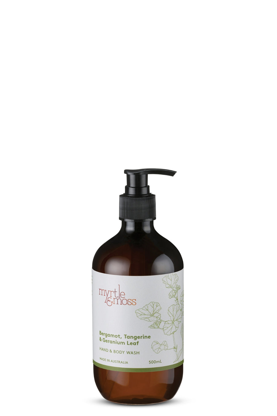 Hand & Body Wash by Myrtle & Moss Shop Online mookah.com.au