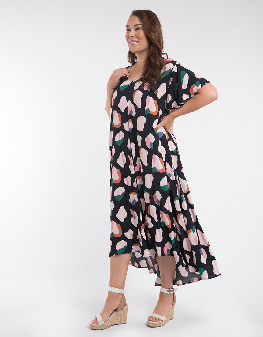 Annie High/Low Dress - Shop Online At Mookah - mookah.com.au