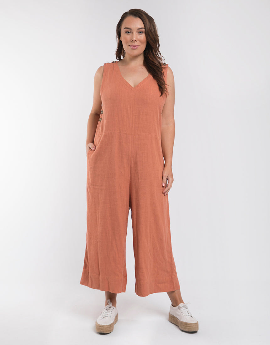 Penny Jumpsuit - Copper