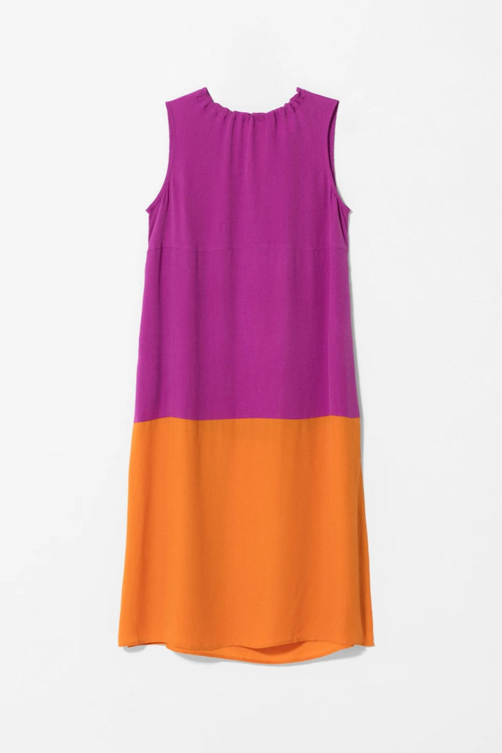 Elk Molger Dress - Magenta/Orange - Shop Online At Mookah - mookah.com.au