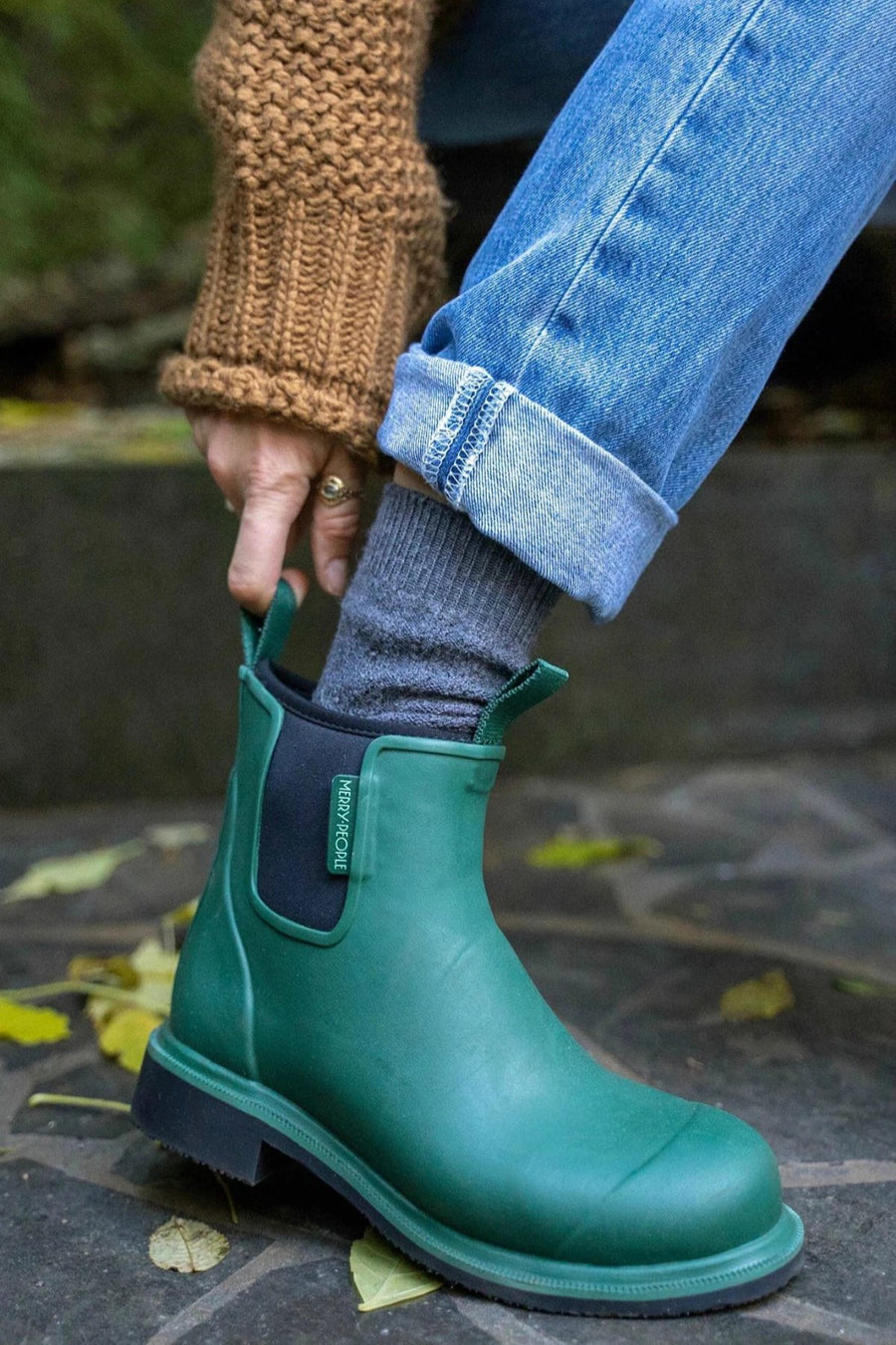 Bobbi Gumboot - Alpine Green - Shop Online At Mookah - mookah.com.au