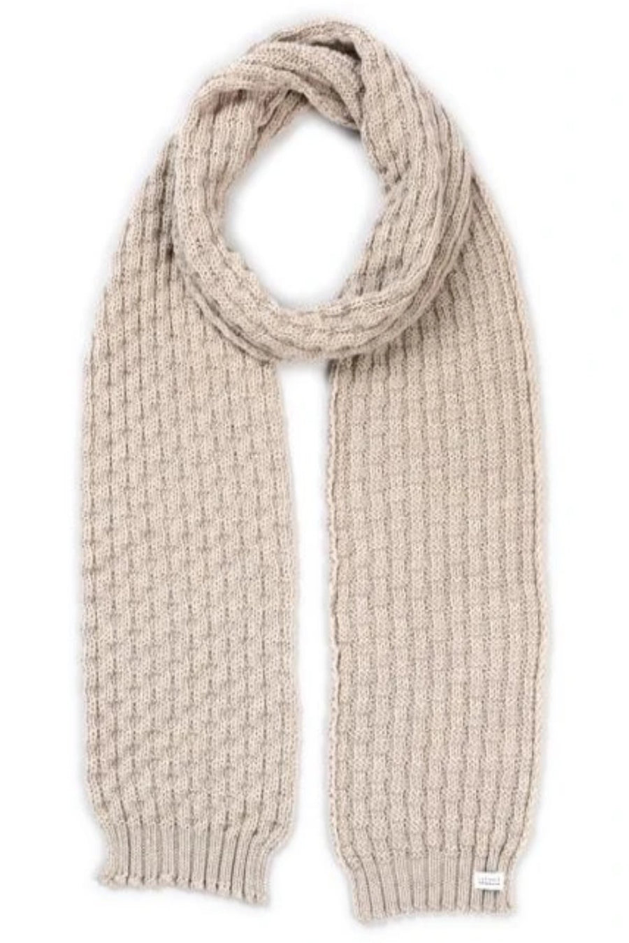 Bellamy Scarf - Oatmeal - Shop Online At Mookah - mookah.com.au