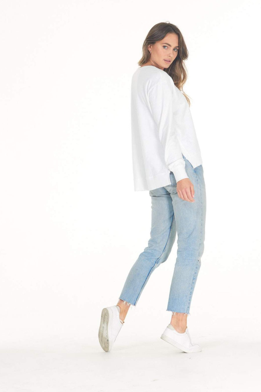 Addyson Sweater - White