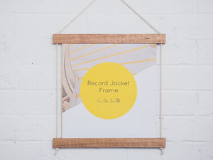 Record Jacket Frame by Corner Block Studio Shop Online mookah.com.au