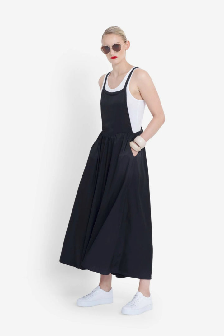 Dovre Dress - Black - Shop Online At Mookah - mookah.com.au