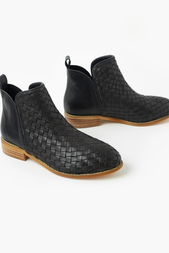 Douglas Weave Leather Boot
