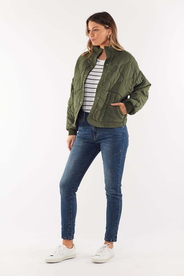 Deryn Jacket - Olive by Foxwood