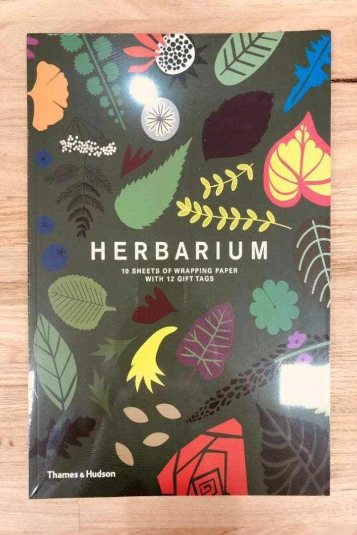 Herbarium Wrapping Paper Book - Shop Online At Mookah - mookah.com.au