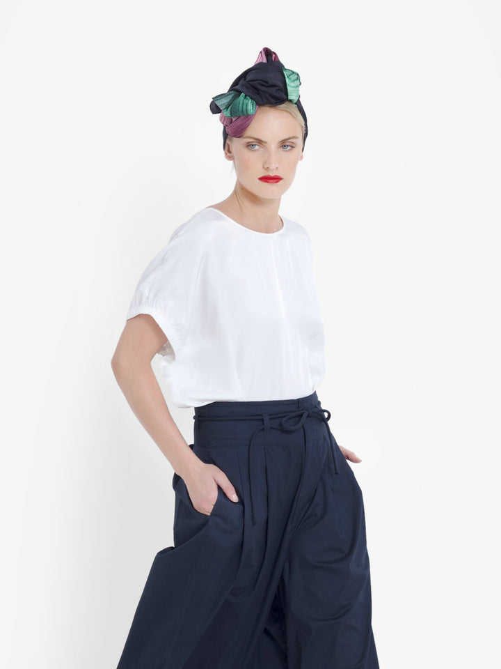 Lesja Shell Top - White - Shop Online At Mookah - mookah.com.au
