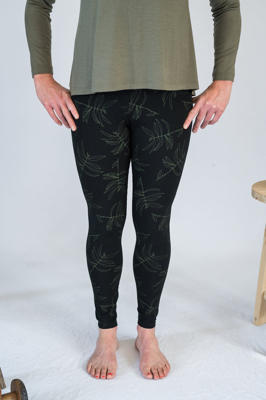 Travel Pants - Black/Khaki - Shop Online At Mookah - mookah.com.au