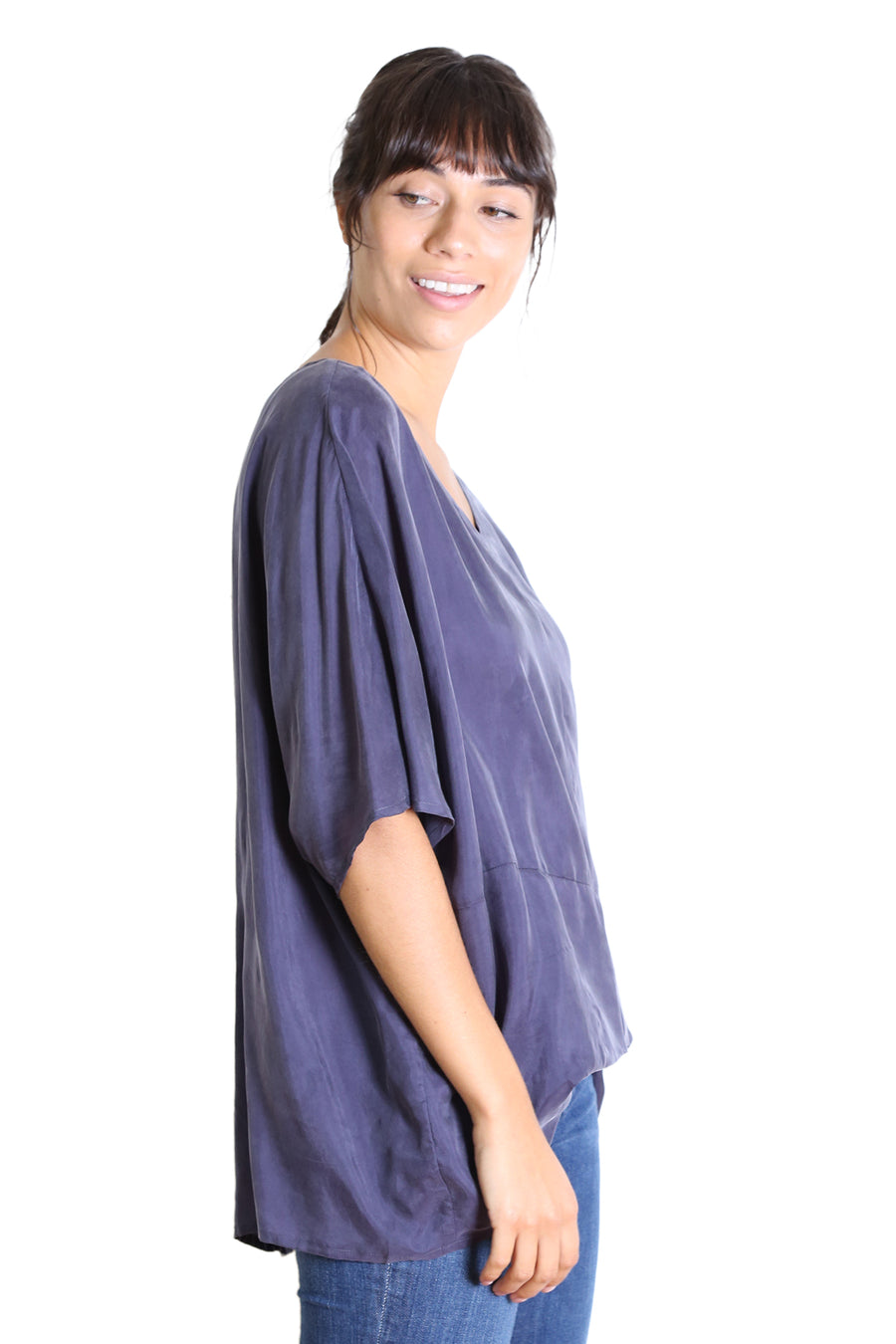 Marilyn Top - Navy - Shop Online At Mookah - mookah.com.au