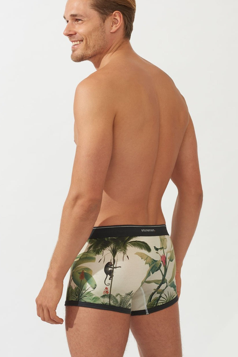 Boxer Brief - Monkeys - Shop Online At Mookah - mookah.com.au