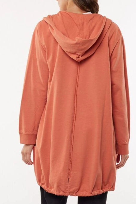 Lexi Hooded Cardigan - Copper