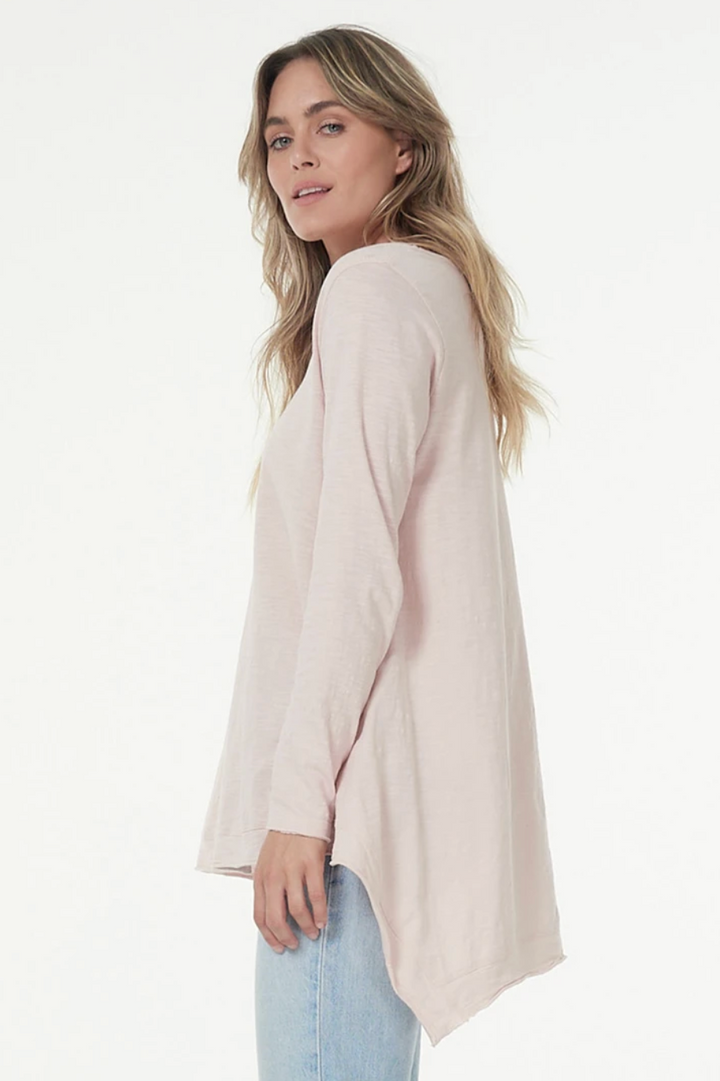 Esther L/S Tee - Blush