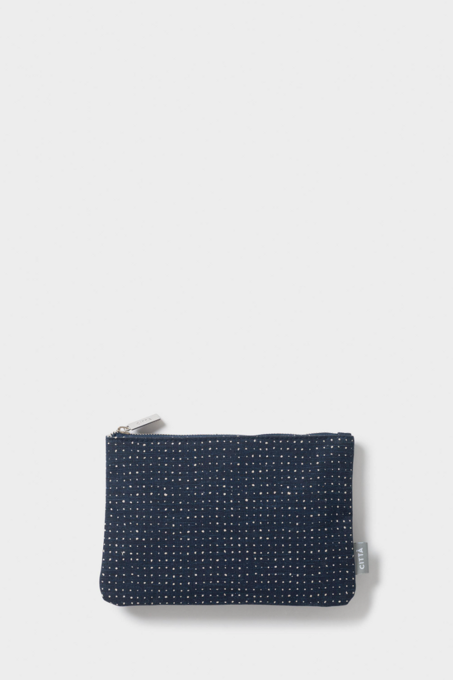 Inku Flat Purse - Midnight/Nat