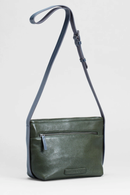 Canutte Bag - Green Tea/Navy