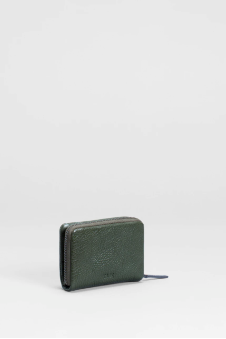 Canutte Wallet - Green Tea/Navy
