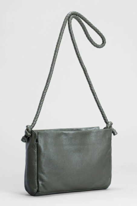 Hede Leather Bag - Army Green