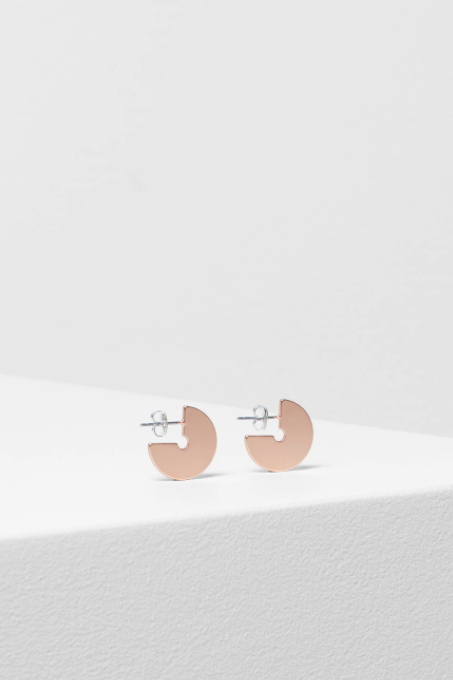 Vivi Earring - Rose Gold Matte