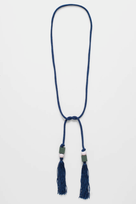 Mai Necklace - Navy