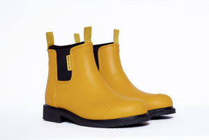 Bobbi Gumboot - Mustard & Black