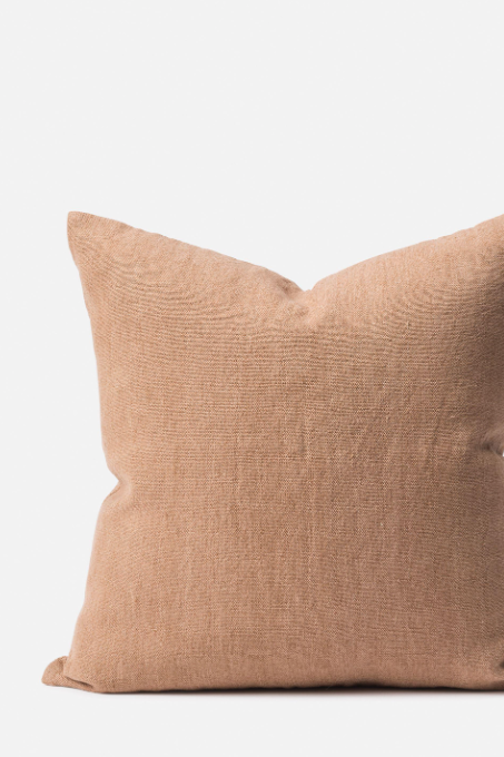 Linen/Jute Cushion - Quinoa