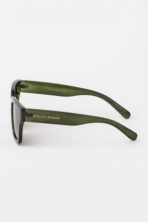 Sunglasses - Avery Forest Green