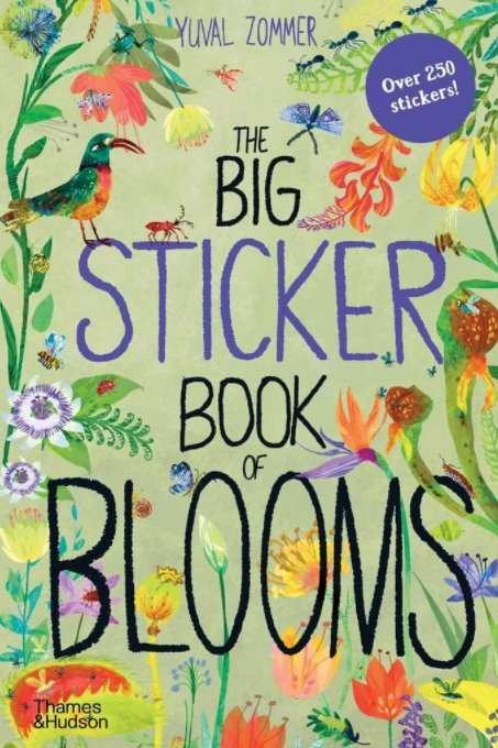 The Big Sticker Book of Blooms
