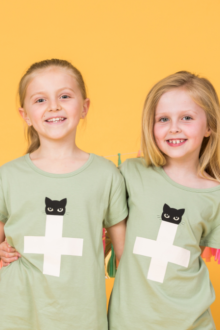 Kids Tee - Sherbet Cat