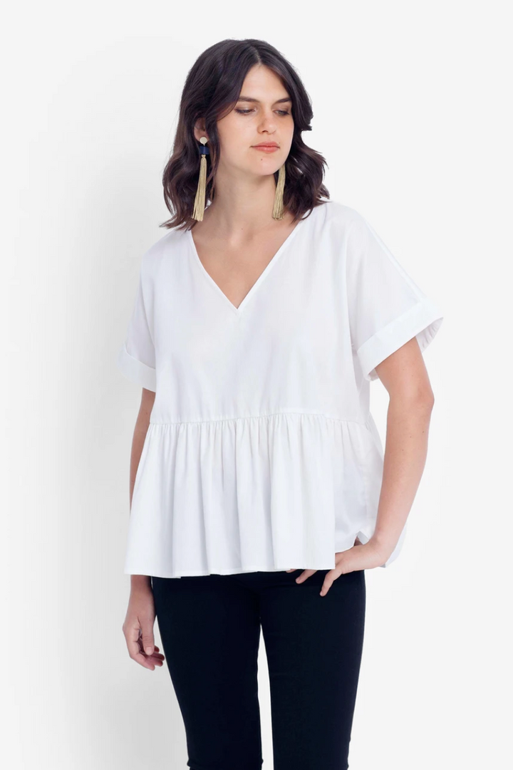 Karis Top - White