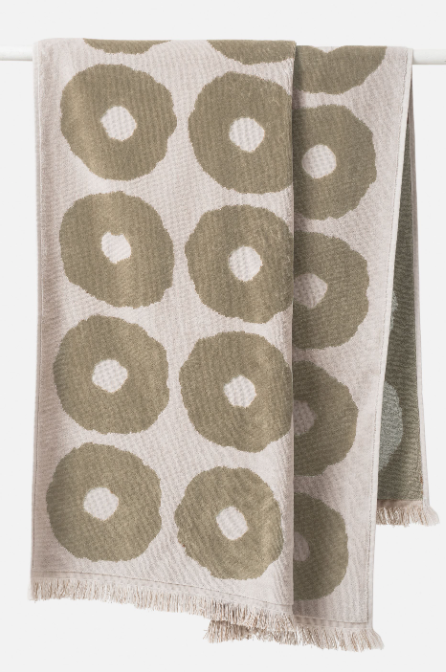 Etta Organic Cotton Bath Towel - Matcha