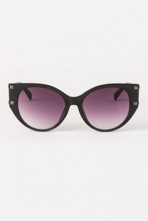 Sunglasses - Raven/Black studs