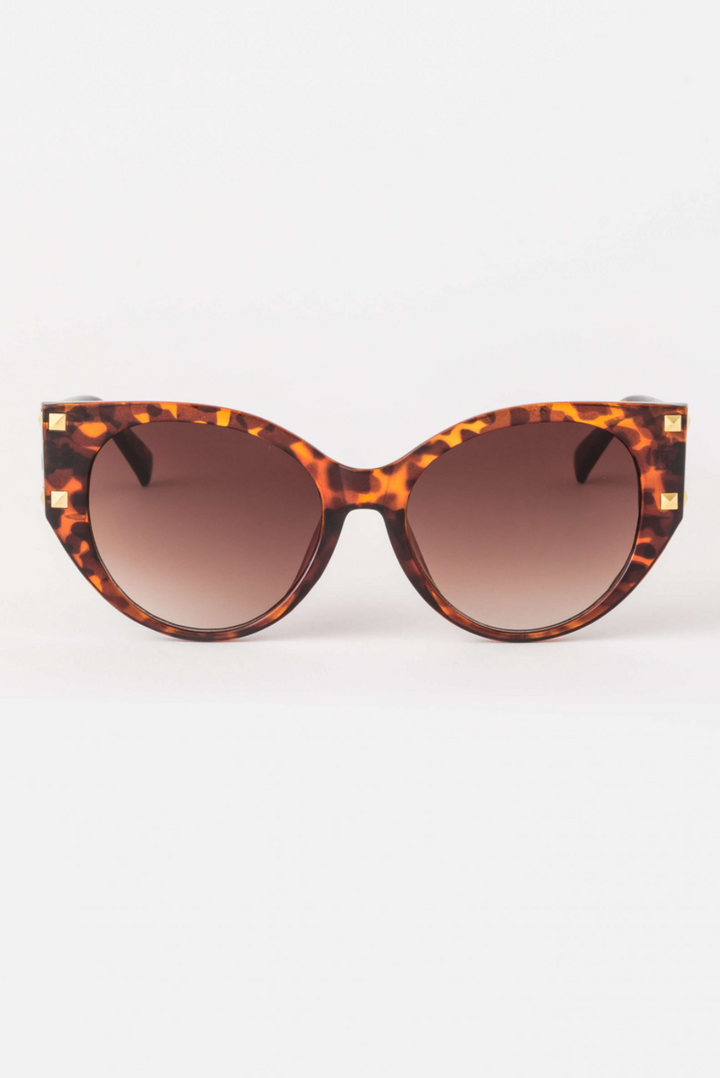 Sunglasses - Raven/Tort with studs