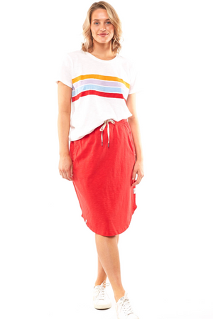 Isla Skirt - Red