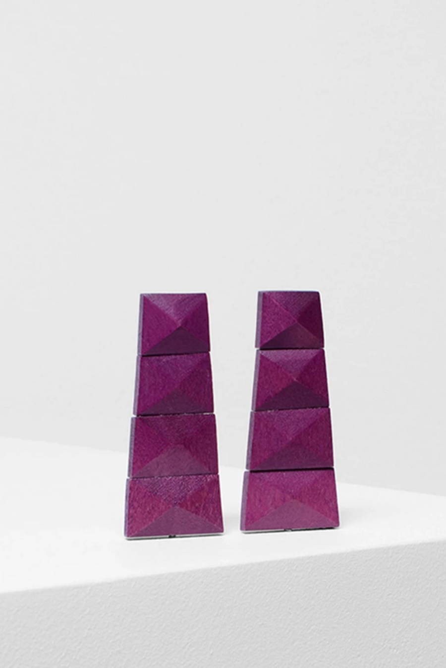 Malena Earring - Boysenberry