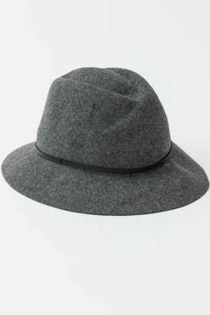 Wool Hat - Grey Marle - Mookah