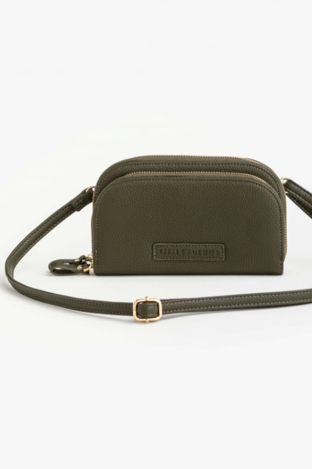 Chloe Duo Phone Wallet/Bag - Khaki - Shop Online At Mookah - mookah.com.au