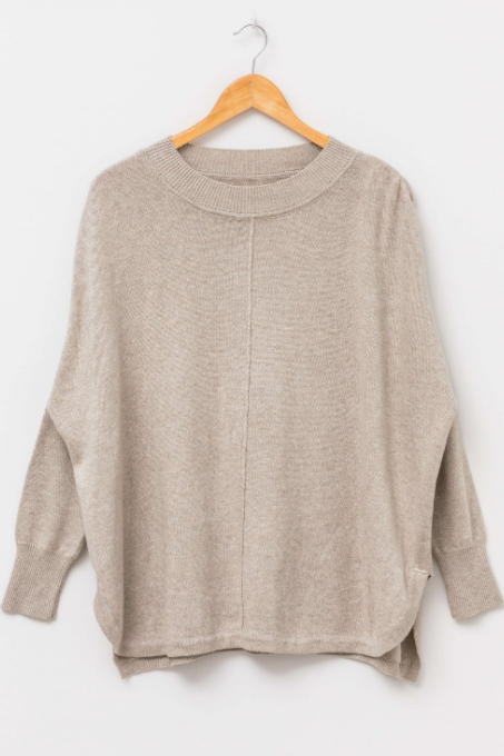 Claris Jumper - Latte - Shop Online At Mookah - mookah.com.au