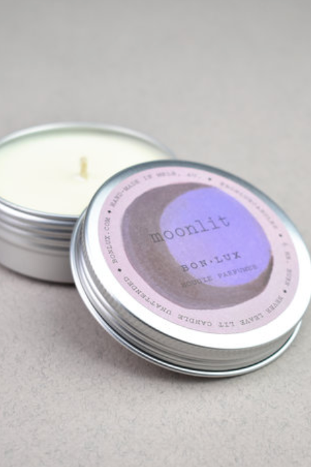 Travel Tin Candle - Moonlit - Shop Online At Mookah - mookah.com.au