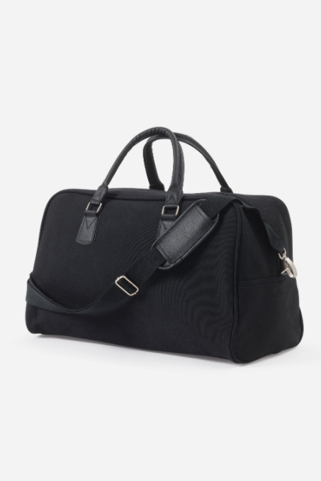 Canvas Travel Bag - Black - Shop Online At Mookah - mookah.com.au