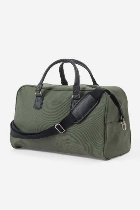 Canvas Travel Bag - Olive - Shop Online At Mookah - mookah.com.au