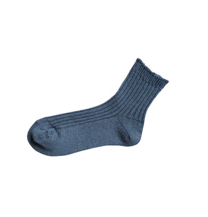 Praha Linen Ribbed Sock - Shop Online At Mookah - mookah.com.au