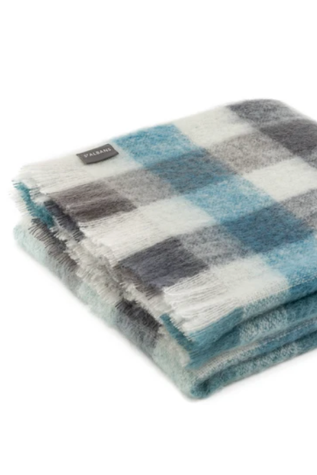 Aspen Mohair Throw